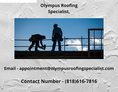Olympus Roofing Specialist   Roof Contractor.
