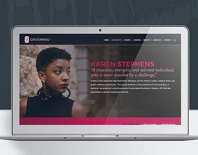 GroomingPlus Website Concept