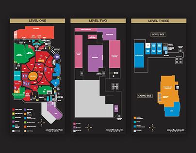 MGM Grand Detroit Property Map