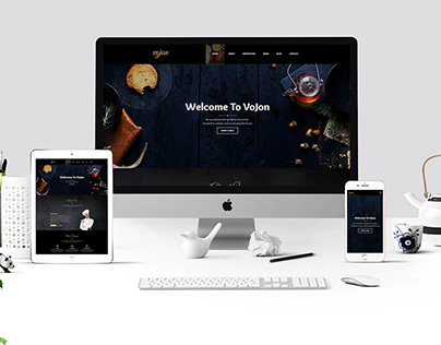 Vojon – Responsive Restaurant HTML5 Template