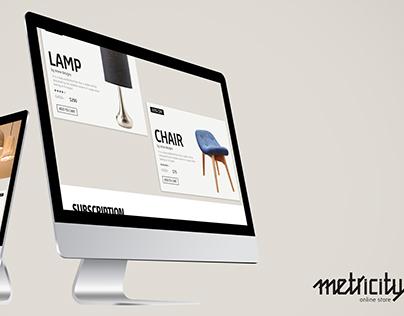 Metricity Website