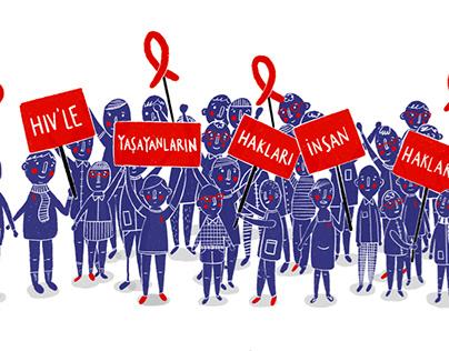HIV'le Yaşayanların Hakları İnsan Haklarıdır