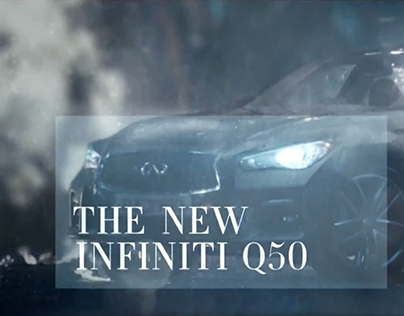 Infiniti Q50 Launch - Integrated Campaign