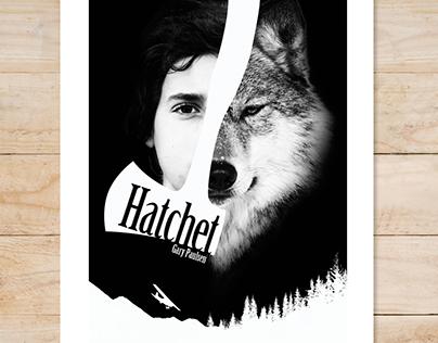 Hatchet Book Cover Poster Art