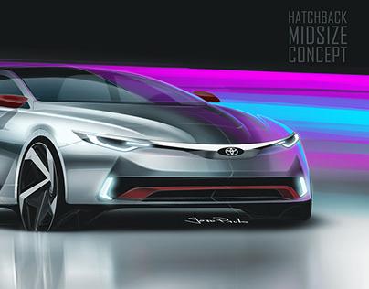 Toyota Hatchback Midsize Concept