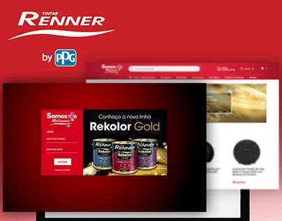 Criação do programa de incentivo Tintas Renner