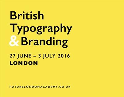 British Typography & Branding Week