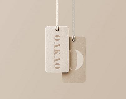 Oakao Fashion Retailer Brand Identity Design