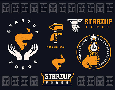 Startup Forge Branding System