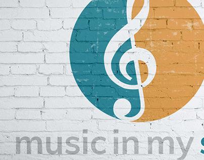 Music In My Soul Lesson Studio Visual Identity