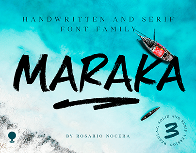Maraka / handwriten and serif fonts