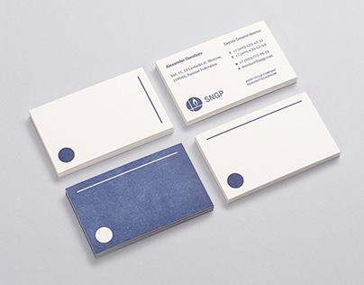 Visual identity for SNGP company