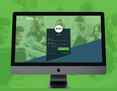 Axiz Rewards Portal - UI UX Design