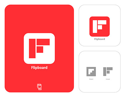 Flipboard Logo Redesign