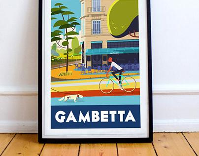 Gambetta - Paris 20ème