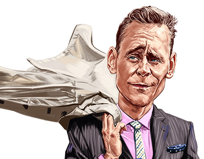 Tom Hiddleston Caricature