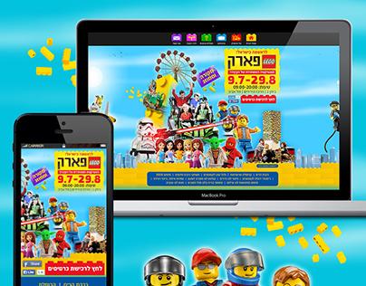 Lego Park Website Design