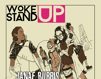 Woke up Stand up Posters