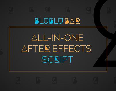 BluBluBar: All-In-One After Effects Script