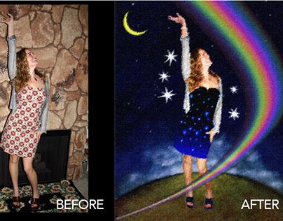 """""""Over the Rainbow"""" - Digital Art"""