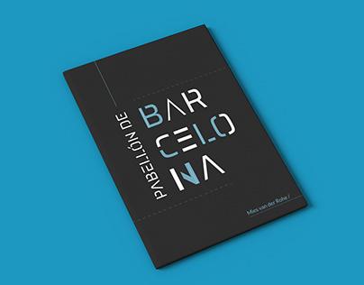 Pabellón de Barcelona - Fanzine tipográfico