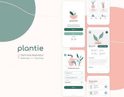 Plant Care App | UX/UI
