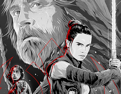 STAR WARS The Last Jedi special screening poster