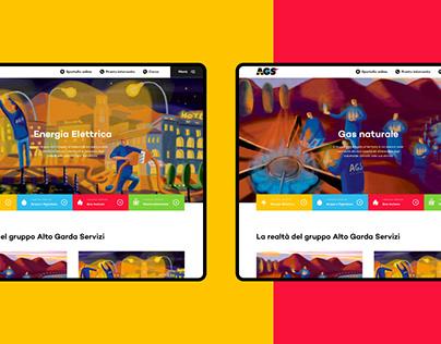 Alto Garda Servizi - Website Redesign