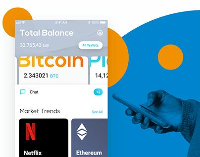 Platio Crypto Banking Application