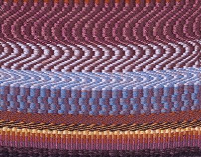 4-Harness Weaving Samples