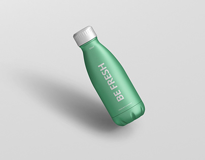Thermo Bottle Mockup 350ml