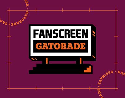 Fanscreen Gatorade