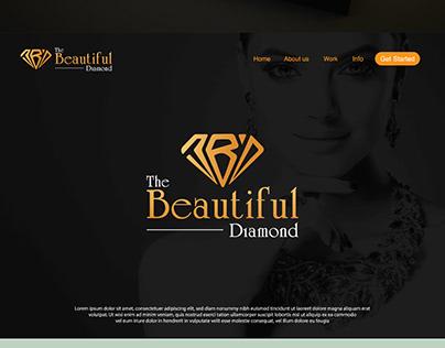 "Logo Design For ""The Beautiful Diamond"""