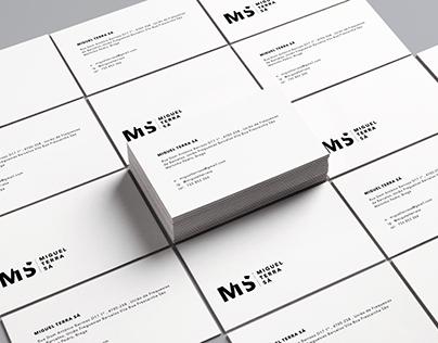 Miguel Terra Sá // branding