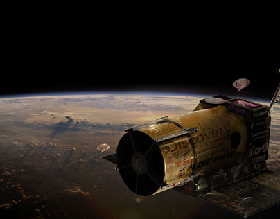 Advertising Subsidized Space Exploration