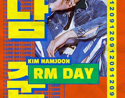 BTS RM Day 2019 Support Design