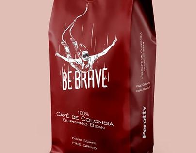 Coffee package design طراحی بسته بندی قهوه پروتی