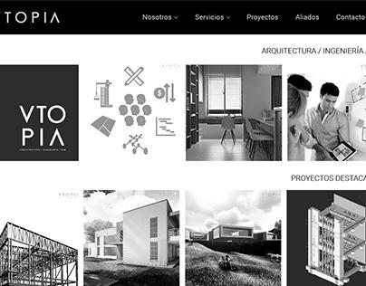 Vtopia Corporate Website