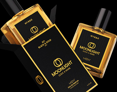Moonlight Perfume, Identity & Packaging