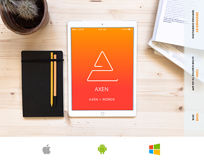 AXEN - A Life-Changing To-Do List App - UI/UX Concept