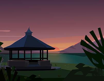A nice sunset draft