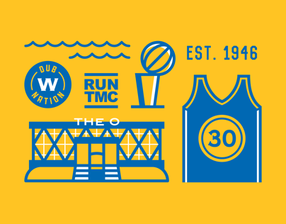 Golden State Warriors Poster