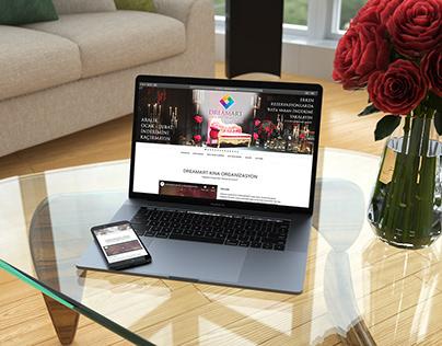 Dreamart Davet & Organizasyon Web Sitesi Tasarımı