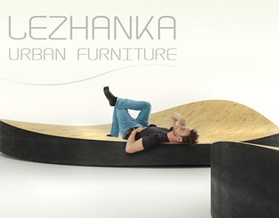 LEZHANKA urban furniture