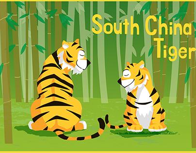 China Tiger Graphic art