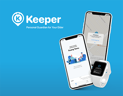 Keeper: Elder Location Monitoring App
