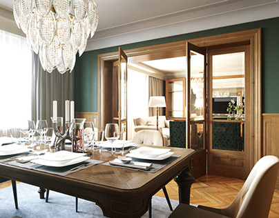 RENOVATION OF A PRESIDENT HOTEL IN MOSCOW