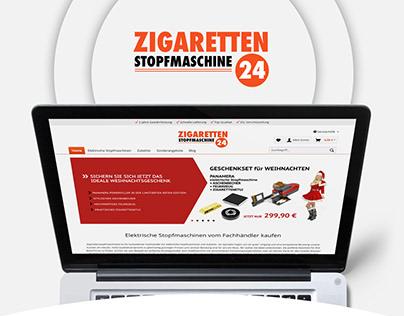 Zigaretten Stopfmaschine 24 - BrandCrock GmbH