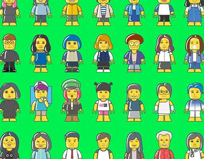 樂高計劃 Classmate Lego Plan|Christmas card