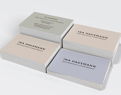 Ina Hausmann, Art Conservator